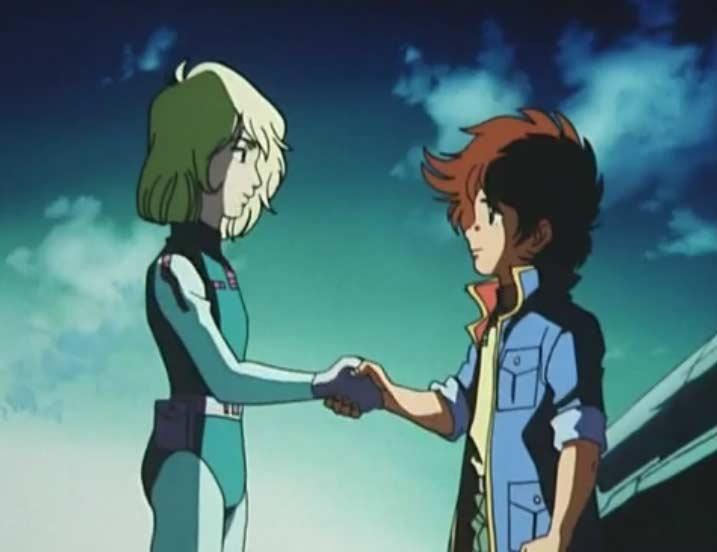 Hiroshi fait ses adieux à Rameil