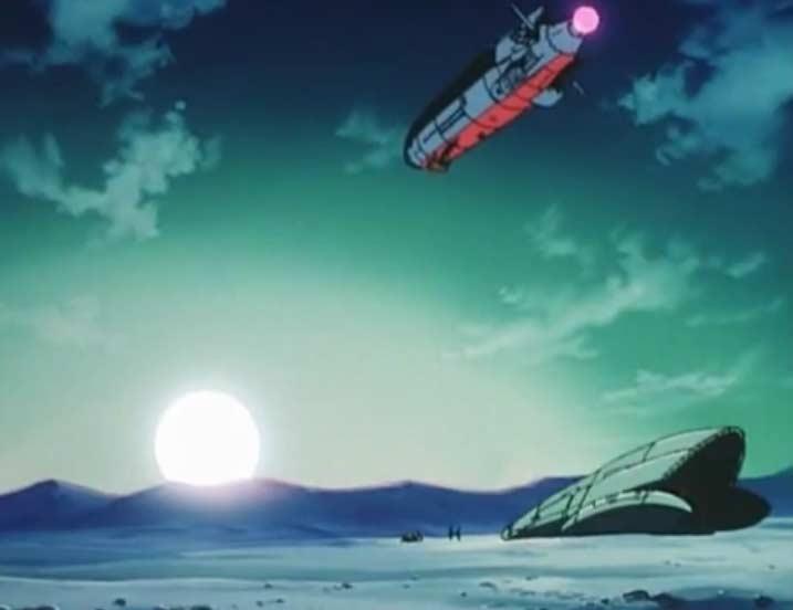 Emeraldas repart pour l'espace sans même dire au revoir à Hiroshi