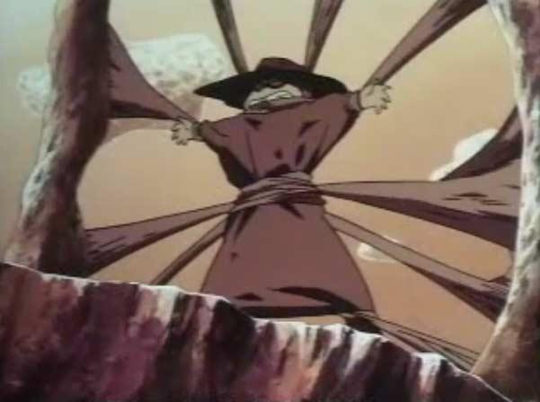 Toshirô a été attaché à une potence par Sirène