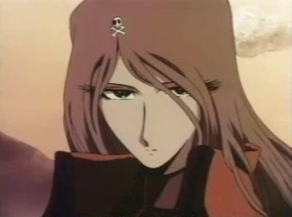 Emeraldas vient secourir Toshirô, son visage n'a pas encore de cicatrice
