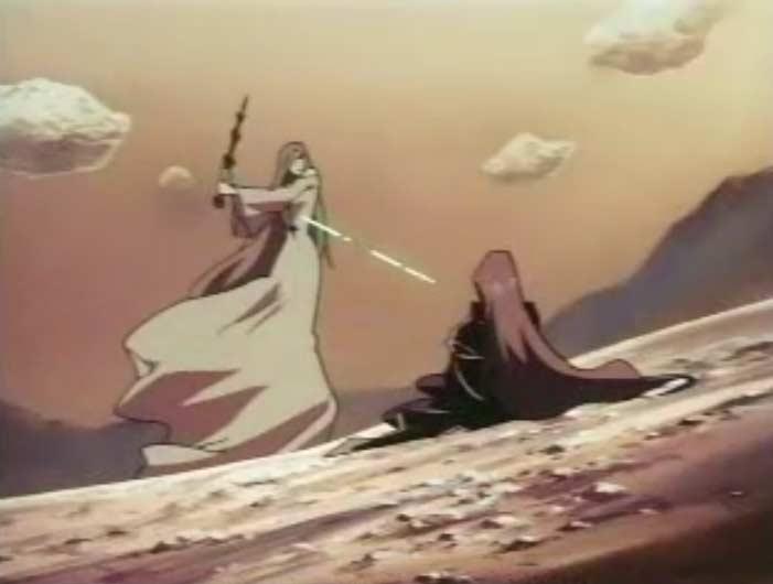 Sirène se bat avec Emeraldas