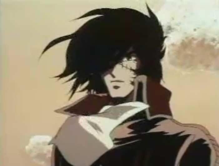 Harlock (Albator) intervient pour sauver Toshirô
