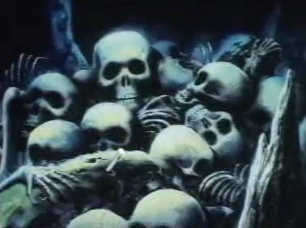 Les oubliettes sont remplies de squelettes des victimes de Sirène