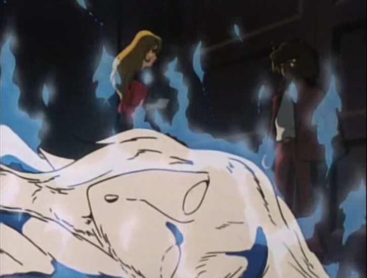 Nausica intervient dans le musée pour sauver Ramis