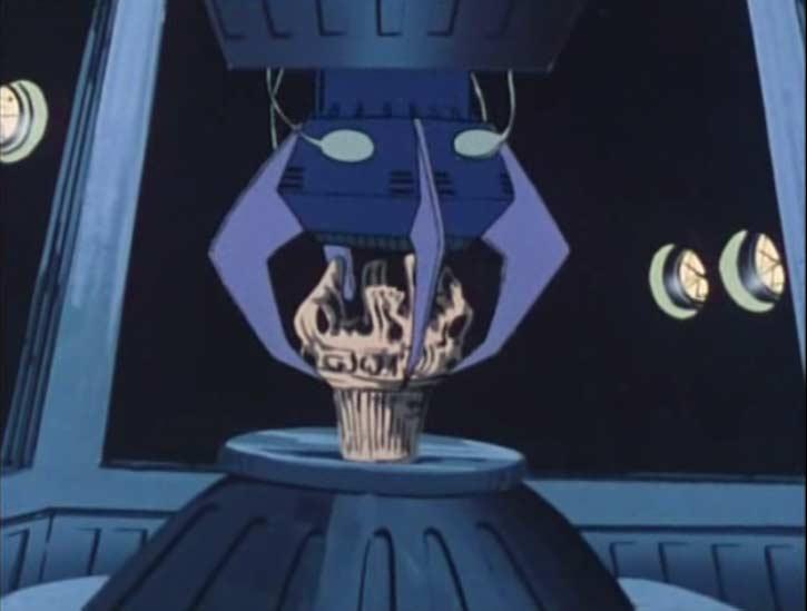 Le physio-inquisiteur tente d'analyser l'Urne sacrée
