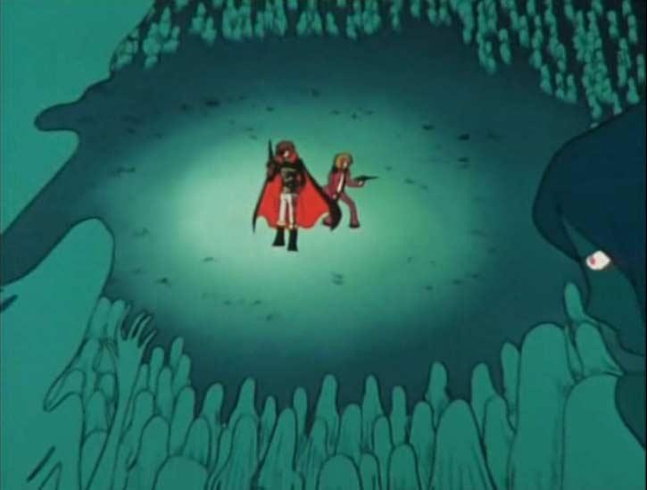 Albator et Ramis sont encerclés par les Sylvidres