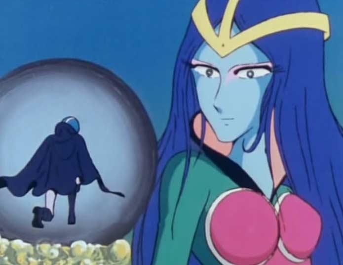 C'est le dernier épisode où l'on voit la Reine Sylvidra avec ce design
