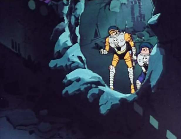 Ramis et Alfred partent explorer l'épave du vaisseau sylvidre