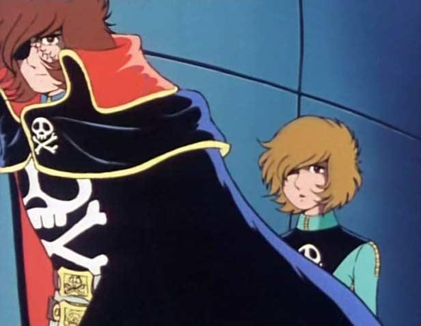 Albator confie à Ramis la garde d'Erossa