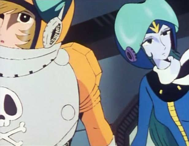 Sans réaliser ce qu'il fait, Ramis aide Erossa à fuir l'Atlantis