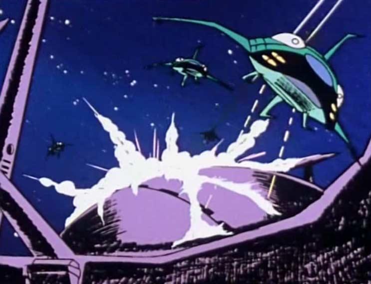 Les chasseurs s'en prennent au dôme de l'ordinateur de l'Atlantis