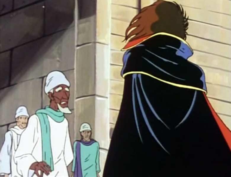 Kareb est le père adoptif de Vilak