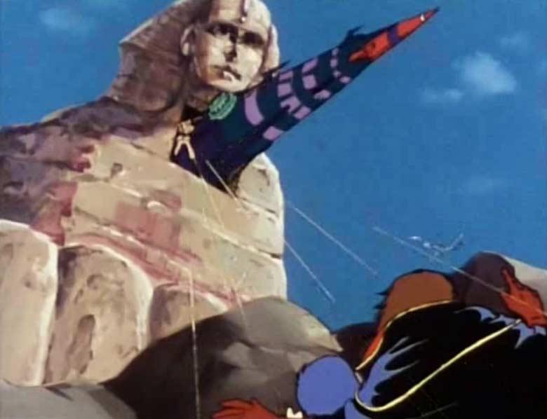 Après avoir tiré sur l'Atlantis, Vilak s'en prend à Albator