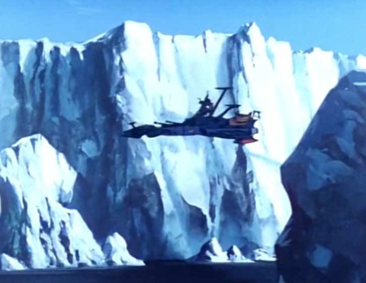 L'Atlantis arrive au pôle