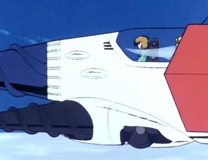 Ramis et Nausica partent explorer les environs avec des véhicules terrestres