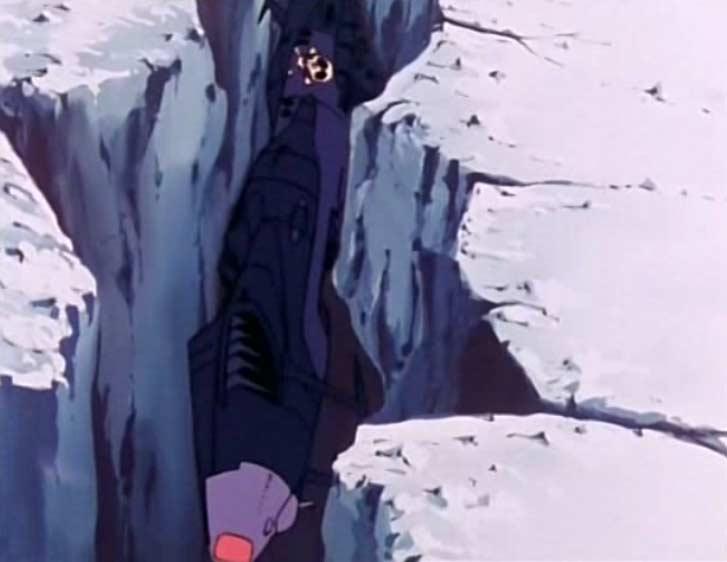Vilak a découvert que l'Atlantis est prisonnier des glaces