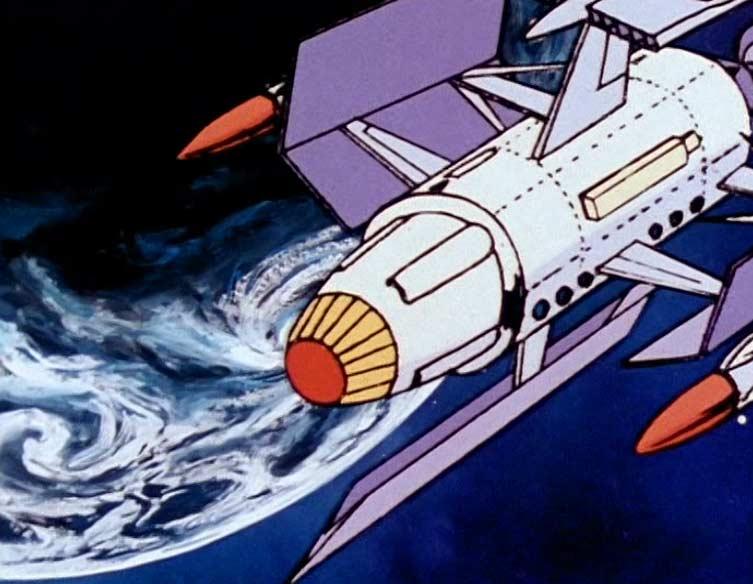 L'îlo Sacré est un satellite artificiel développé par le père de Nausica