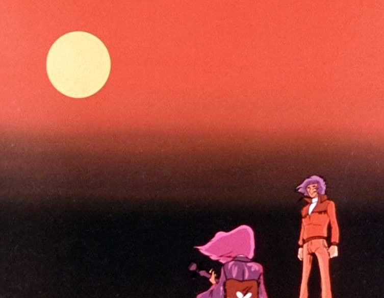 Avant de régler ses compte avec Roger, Nausica lui joue un morceau de shamisen