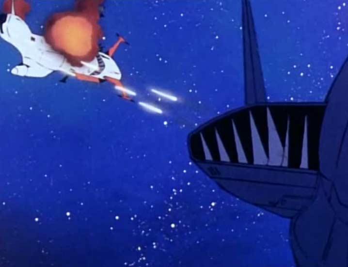 Par le passé Tornadéo a déjà affronté Albator et l'Atlantis