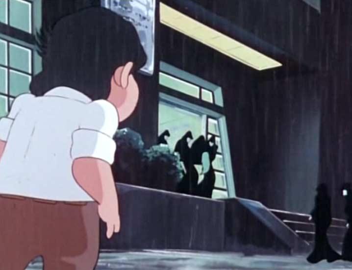 En rentrant chez lui Marysse assiste à l'enlèvement de Madeleine par des sylvidres