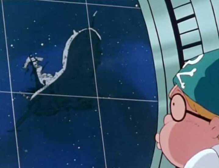 Alfred détecte le vaisseau de Tornadéo