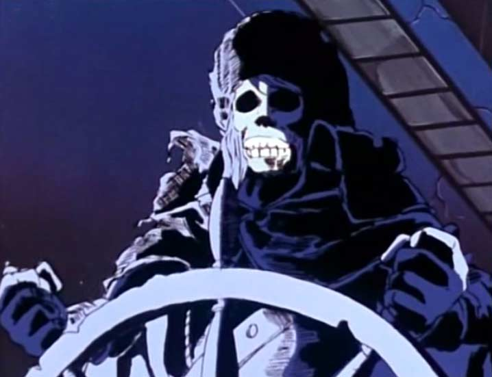 Tornadéo est mort en tenant la barre et son cadavre continu à la tenir même dans la mort