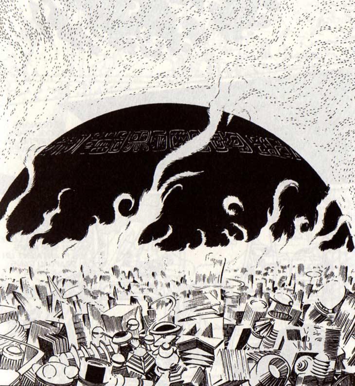 Une mystérieuse sphère noire s'est écrasée sur la Terre