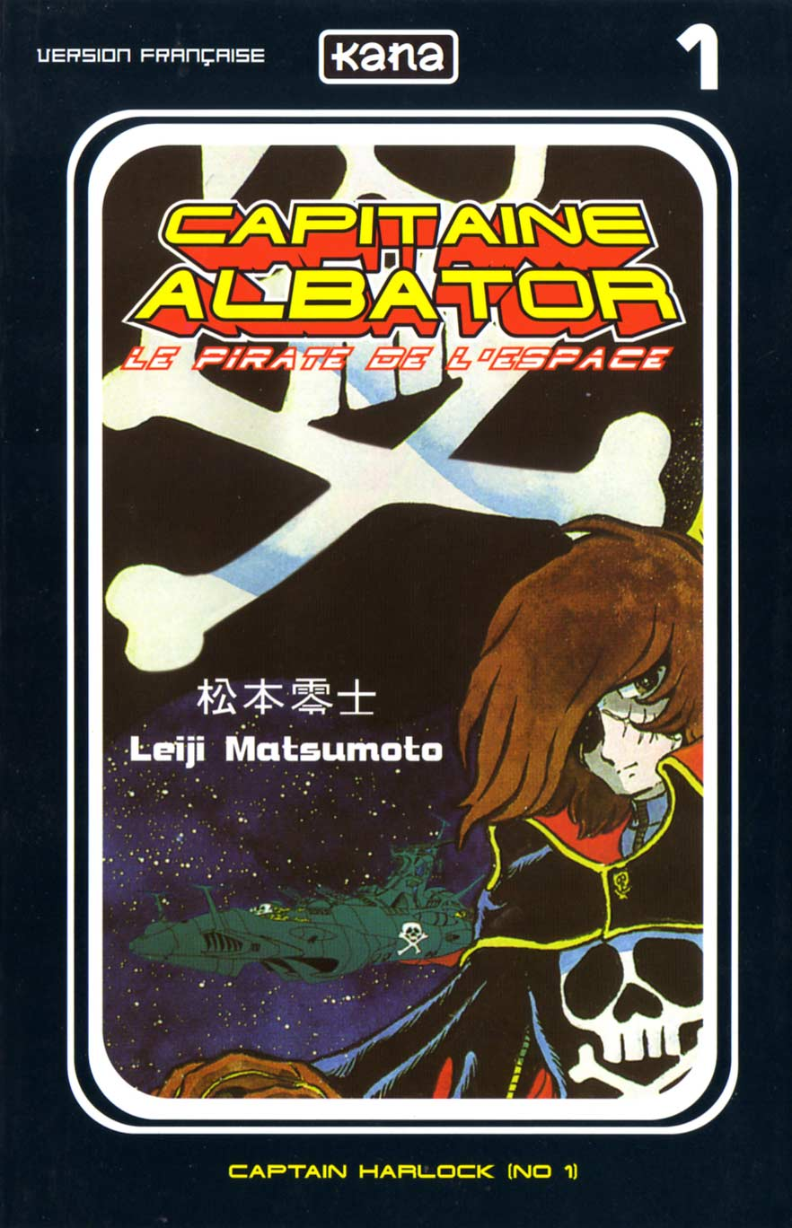 Capitaine Albator (couverture face)