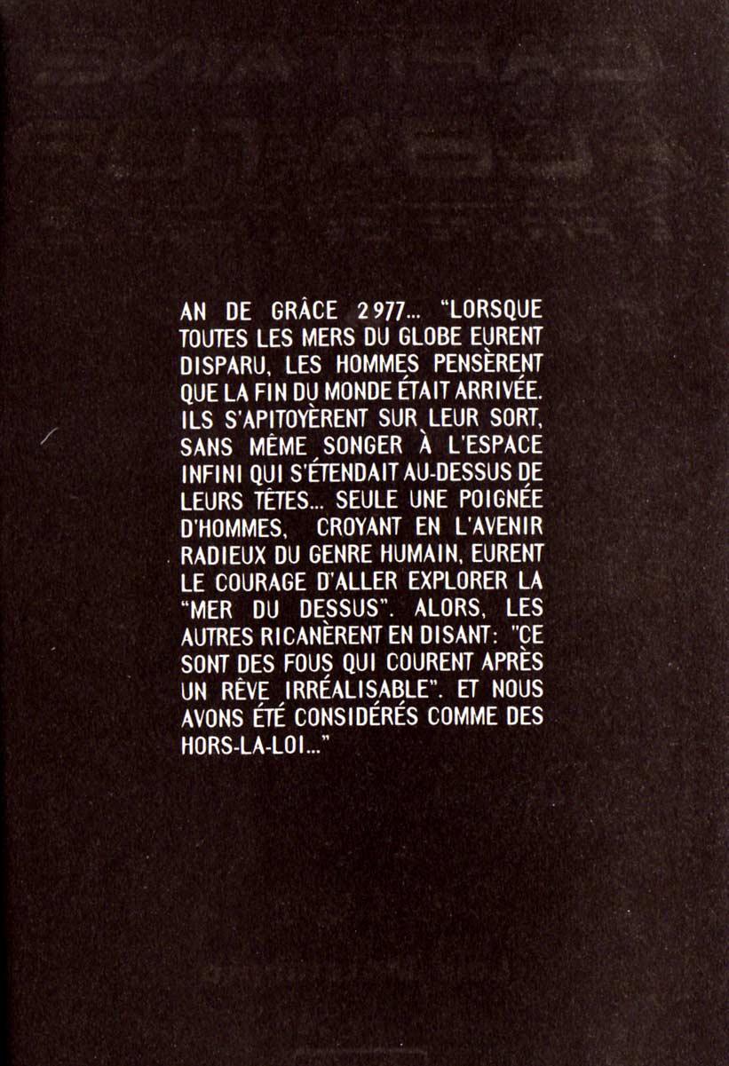 Page 1 du Tome 1 de Capitaine Albator