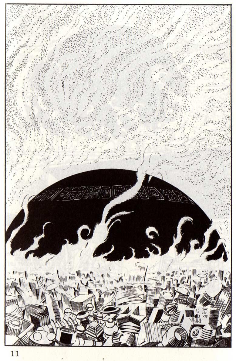Page 8 du Tome 1 de Capitaine Albator