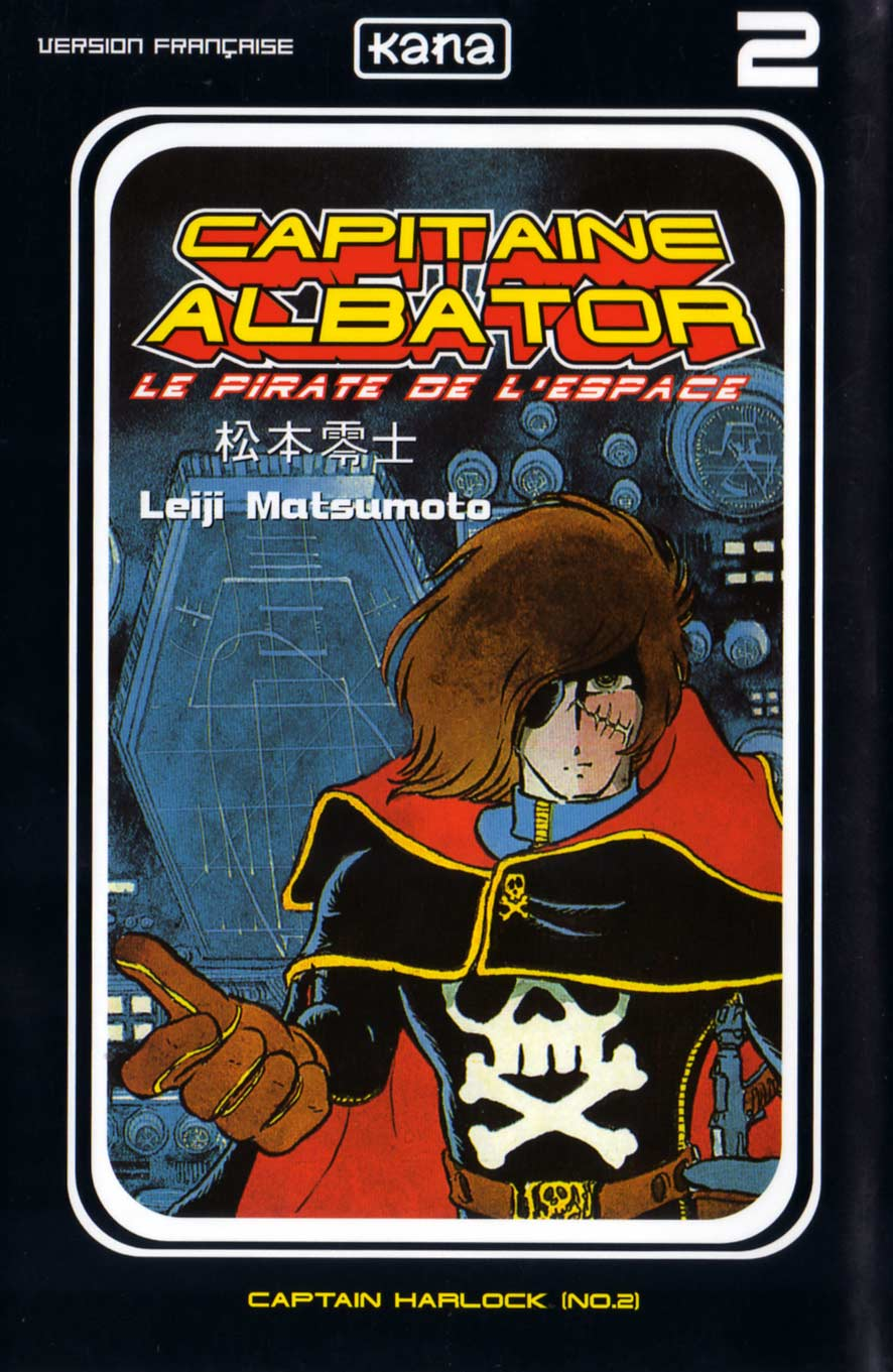 Tome 2 : Capitaine Albator (couverture face)