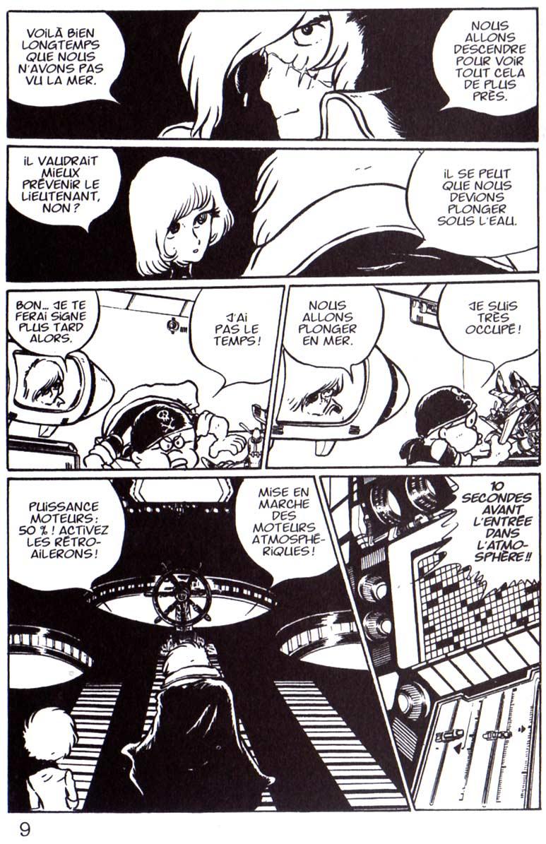 Page 5 du Tome 2 de Capitaine Albator