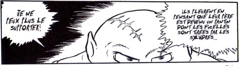 Zoru ne supporte plus d'avoir été le pantin des sylvidres