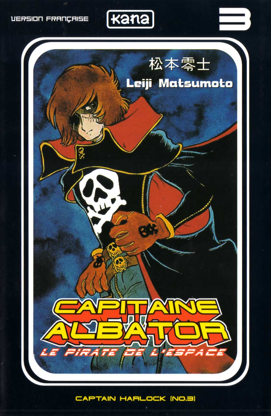 Tome 3 : Capitaine Albator (couverture)