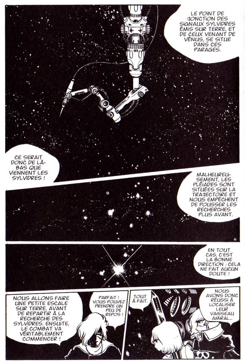 Page 01 du Tome 3 de Capitaine Albator