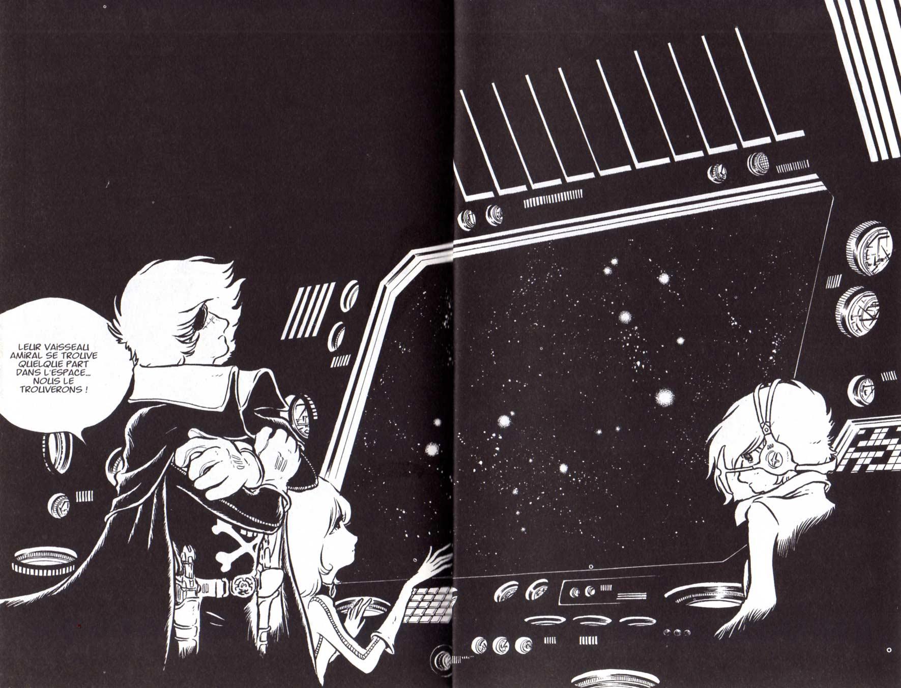 Page 02 et 03 du Tome 3 de Capitaine Albator