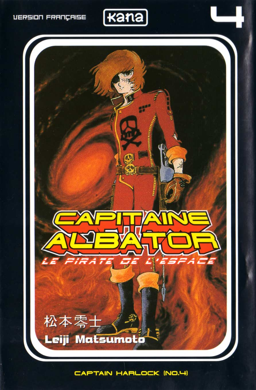 Tome 4 : Capitaine Albator (couverture)