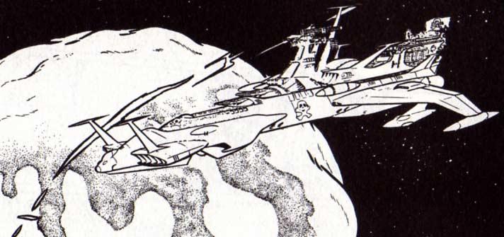 L'Arcadia est attiré par une planète avec une gravité énorme