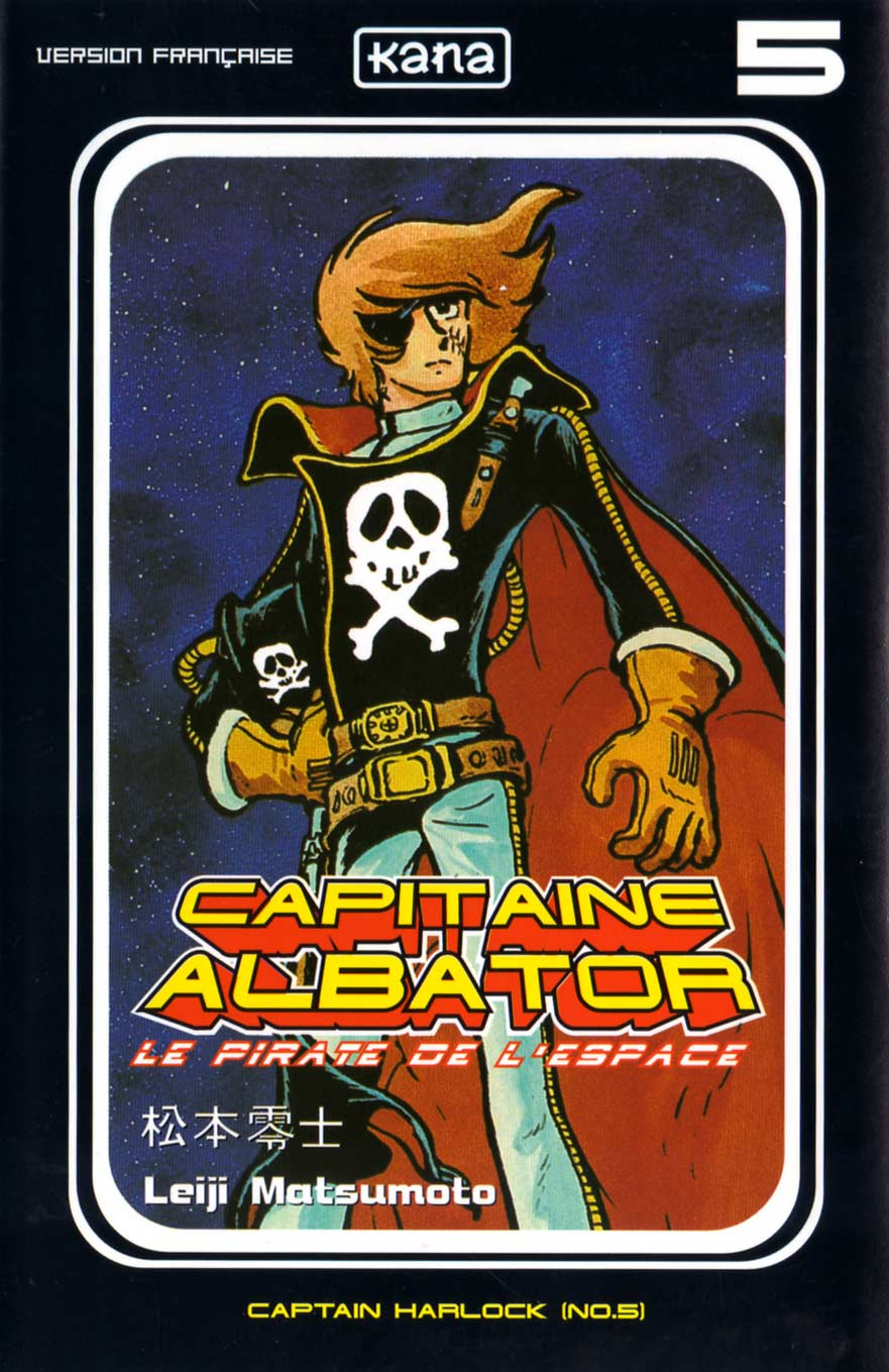 Tome 5 : Capitaine Albator (couverture)