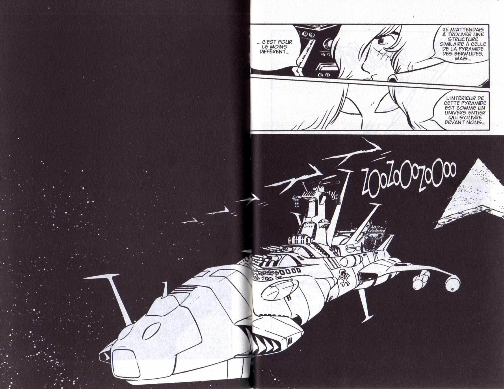 Page 2 et 3 du Tome 5 de Capitaine Albator