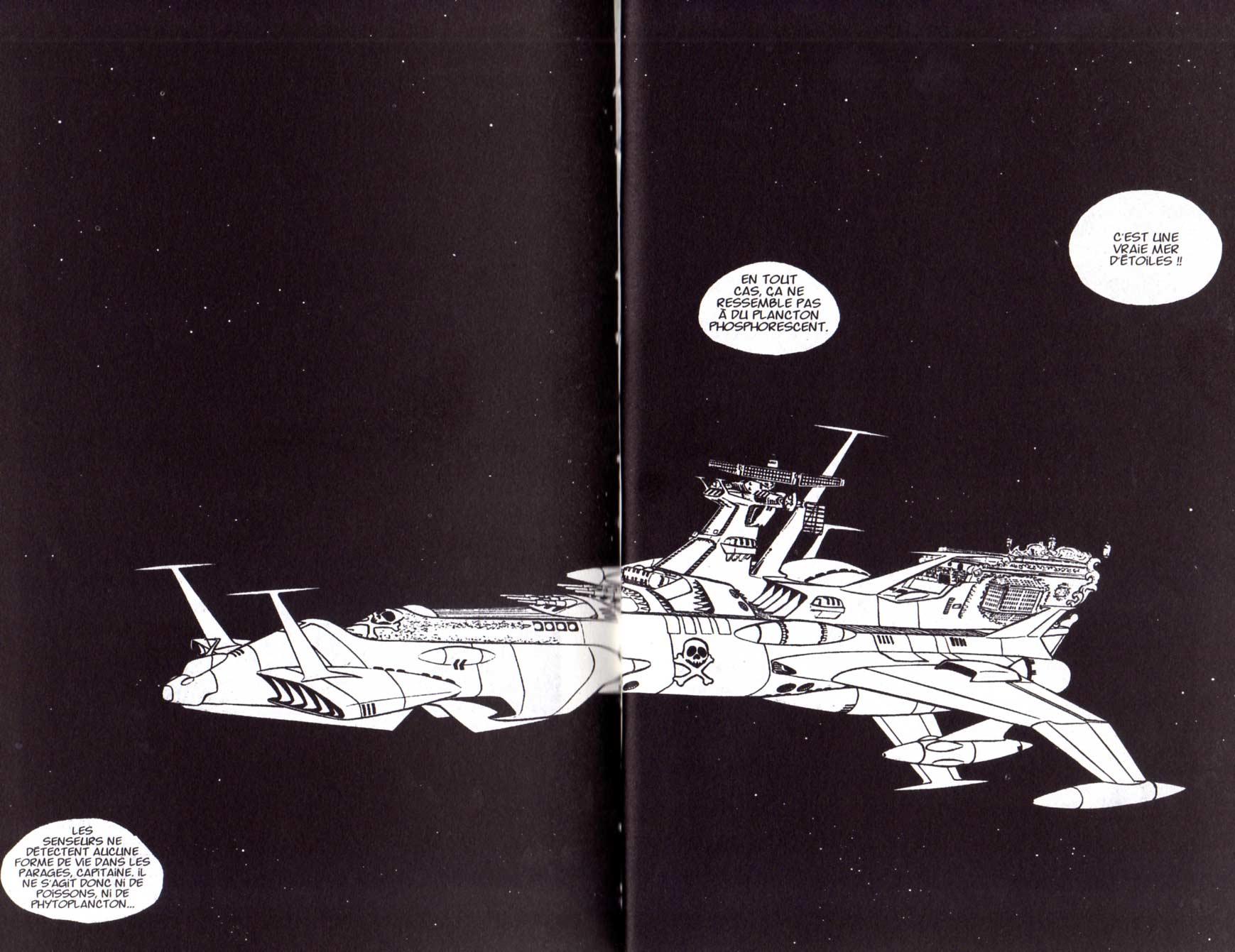 Page 6 et 7 du Tome 5 de Capitaine Albator