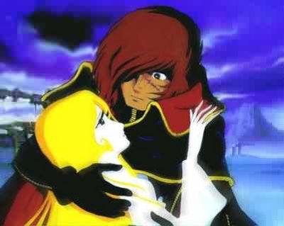 Maya meurt dans les bras de l'homme qu'elle aime : Albator