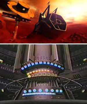 Toshiro a transféré son âme dans l'ordinateur de l'Atlantis depuis un appareil situé dans l'épave de l'Ombre de la Mort