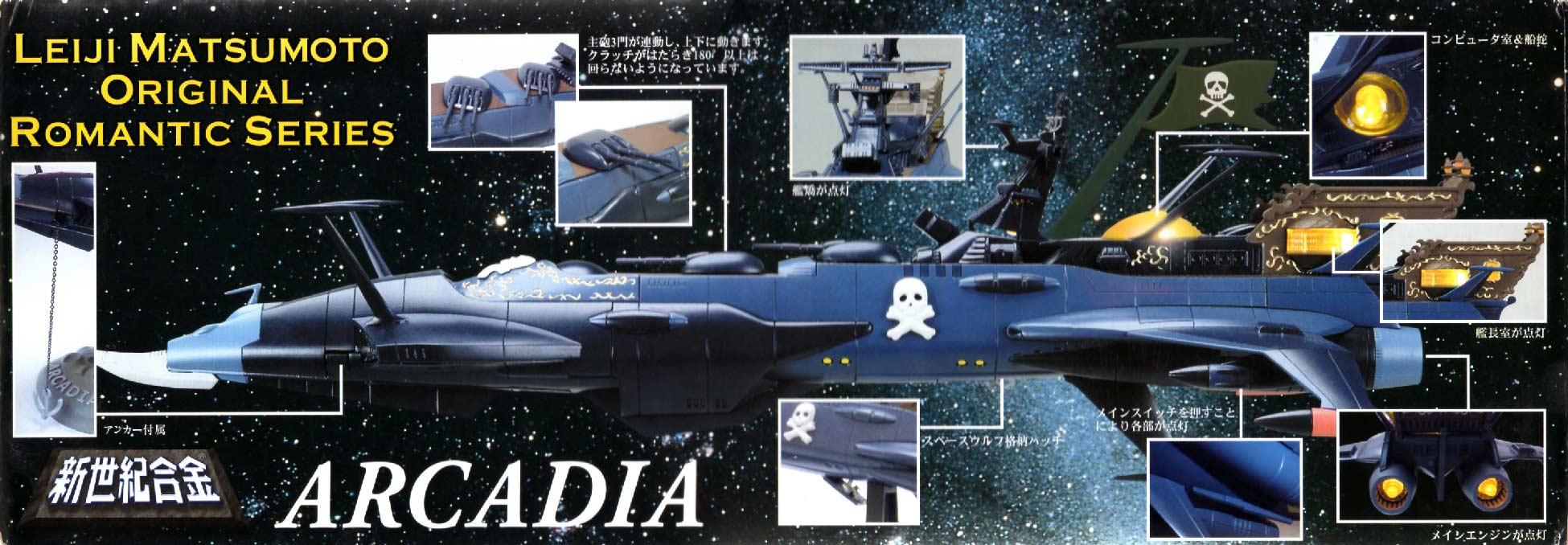 présentation des différentes fonctions du Death Shadow (Aoshima)