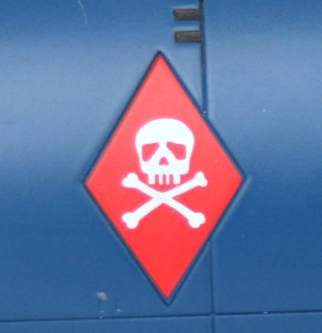 Logo à tête de mort latéral