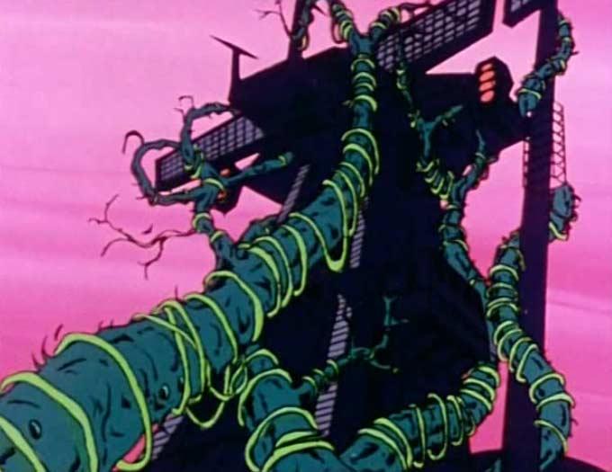 L'Atlantis est prisonier des racine géantes (Albator 78 - Episode 20)
