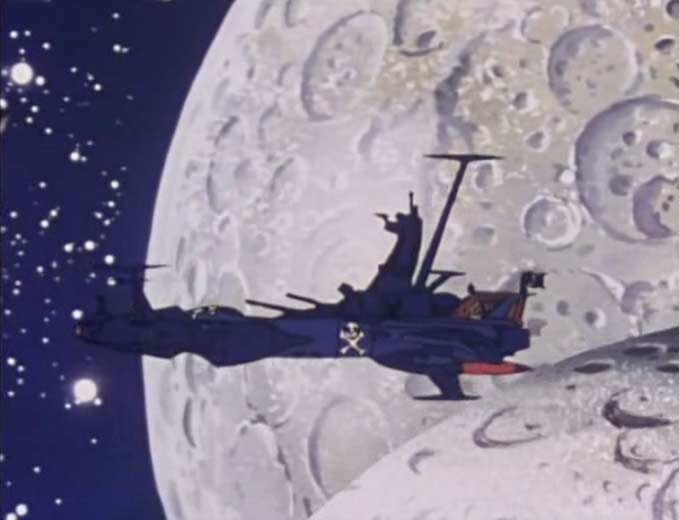 L'Atlantis a été endommagé par l'impact des astéroïdes