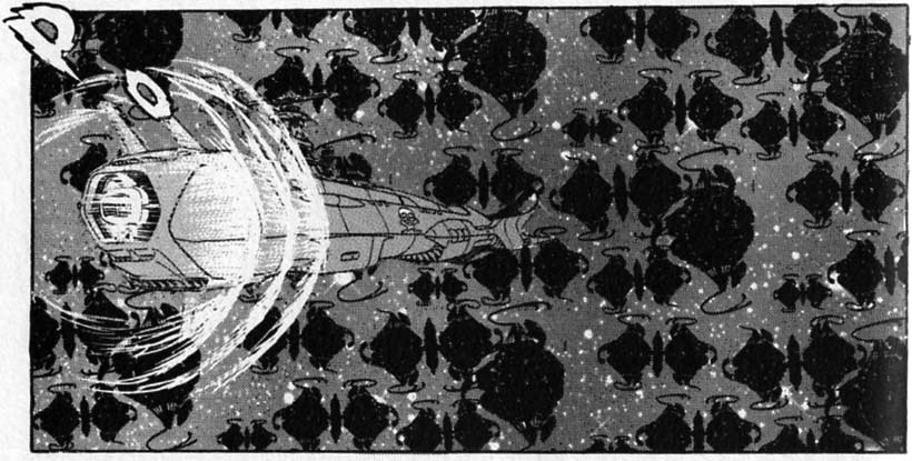 Le Death Shadow affronte l'armada de 168000 vaisseaux Phantasmagoras