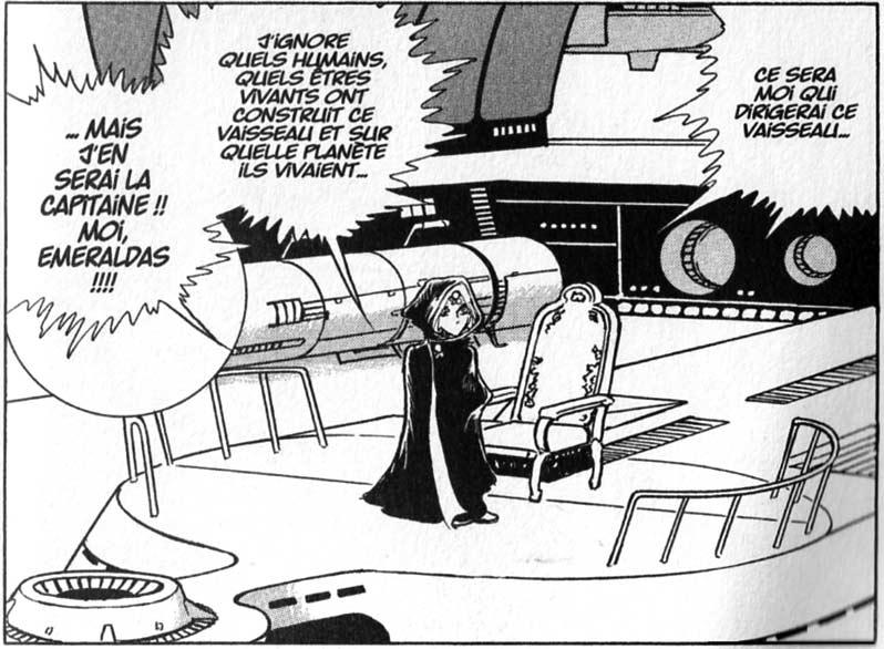 Emeraldas a découvert son vaisseau alors qu'elle n'était encore qu'une enfants. (L'Anneau des Nibelungen)