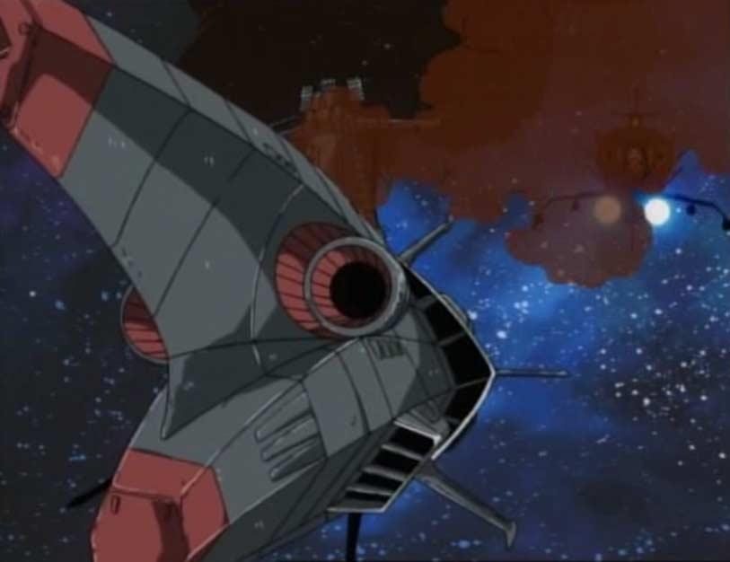 Le Kagero est réduit à l'immobilité par les tirs précis de l'Ombre de la Mort